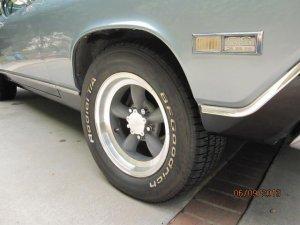 American Racing Torq Thrust Aluminum Flat Caps